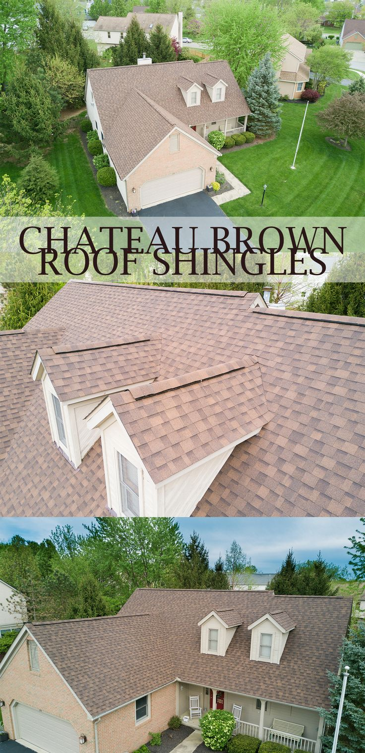 Best Chateau Brown Shingles By Mr Roof Roofing Roofshingles 400 x 300