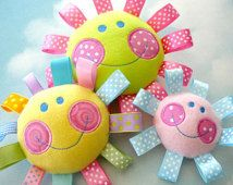 Embroidery Design for Machine Embroidery Happy Face Toy In-The-Hoop