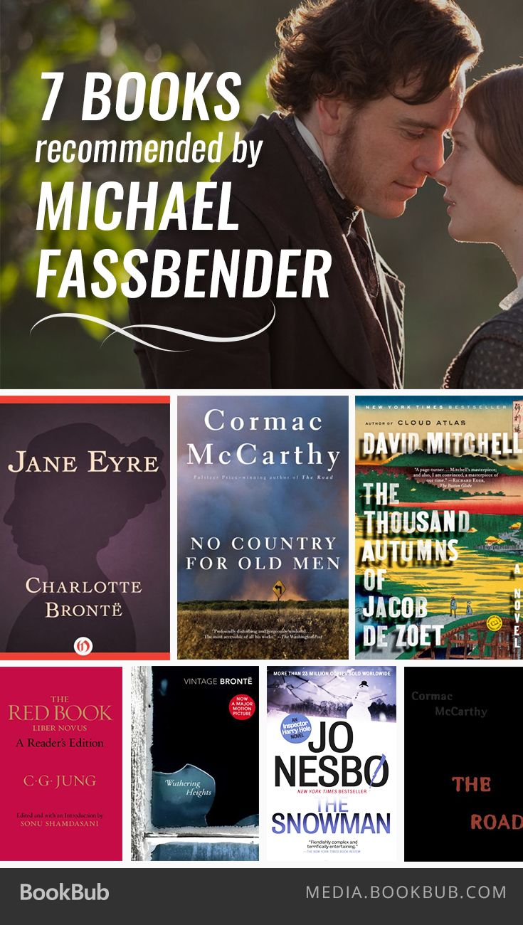 7 Books Recommended By Michael Fassbender