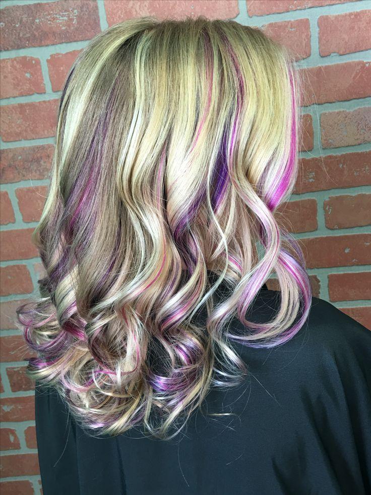 The 25 best blonde peekaboos ideas on pinterest blonde pink purple blonde peekaboos highlights pmusecretfo Gallery