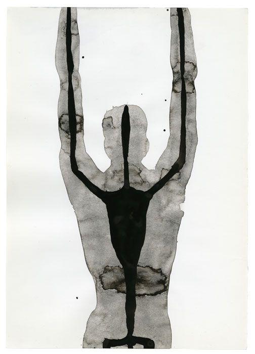 INSIDE ROME 7, 2000 , Antony Gormley