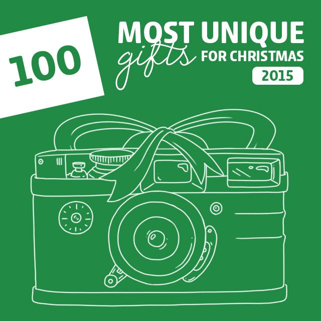 100 Most Unique Christmas Gifts of 2015- this is the holy grail for unique Christmas gift ideas! A must-read before you do any holiday shopping this year.