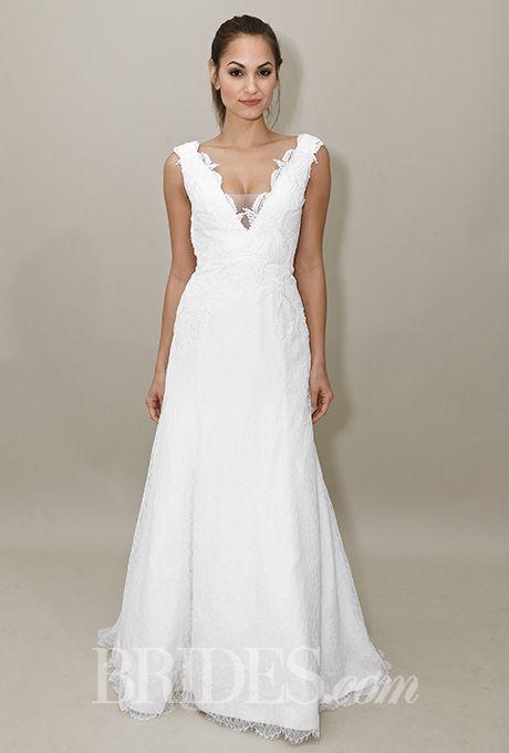 Brides: Heidi Elnora Wedding Dresses   Fall 2015   Bridal Runway Shows   Brides.com | Wedding Dresses Style
