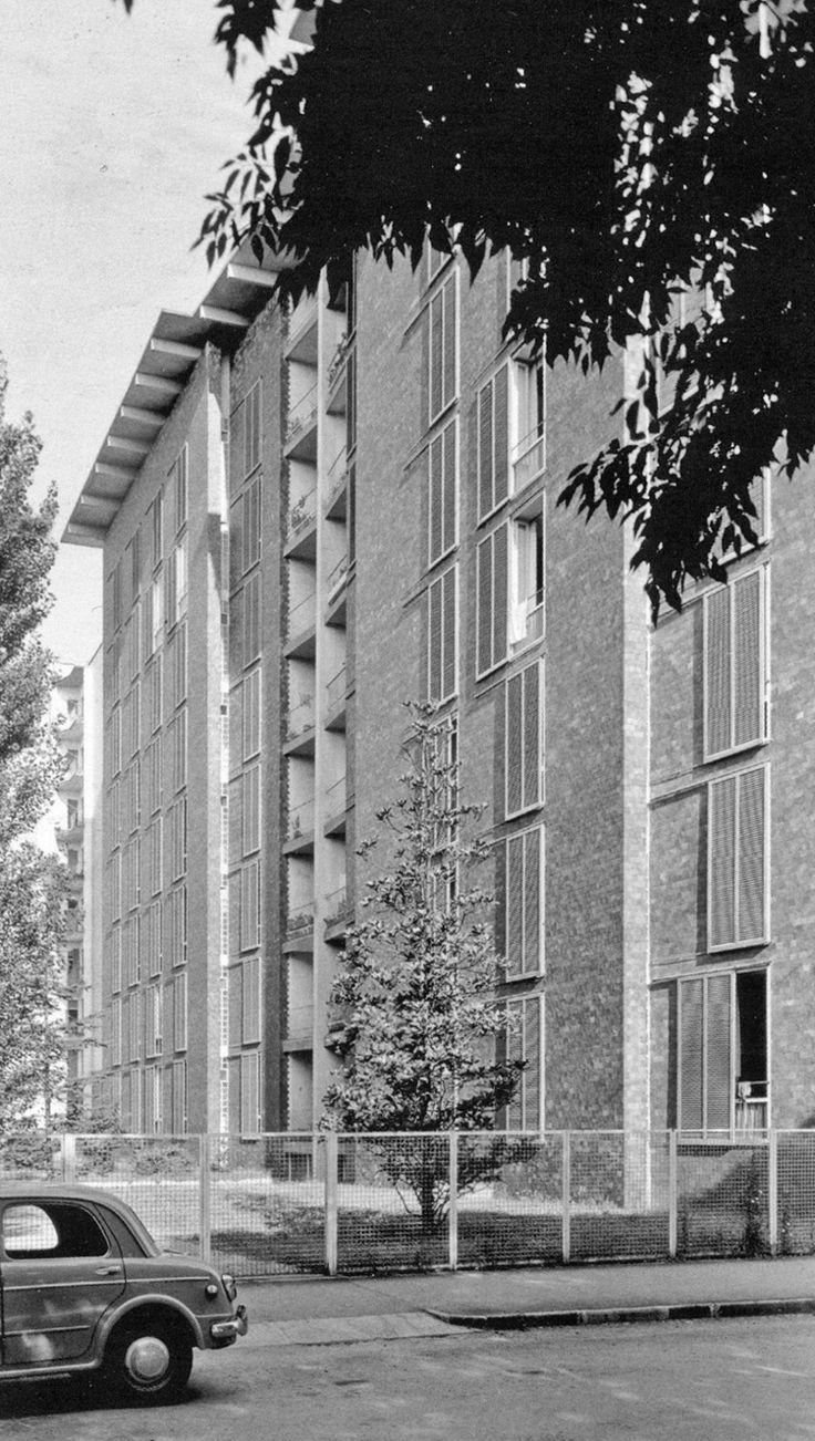 """wmud: """" ignazio gardella - casa per impiegati borsalino, corso xx settembre, alessandria, 1948-52 """""""