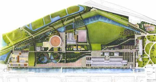 Cultuurpark Westergasfabriek, Project created by Francine Houben  - Amsterdam, Netherlands