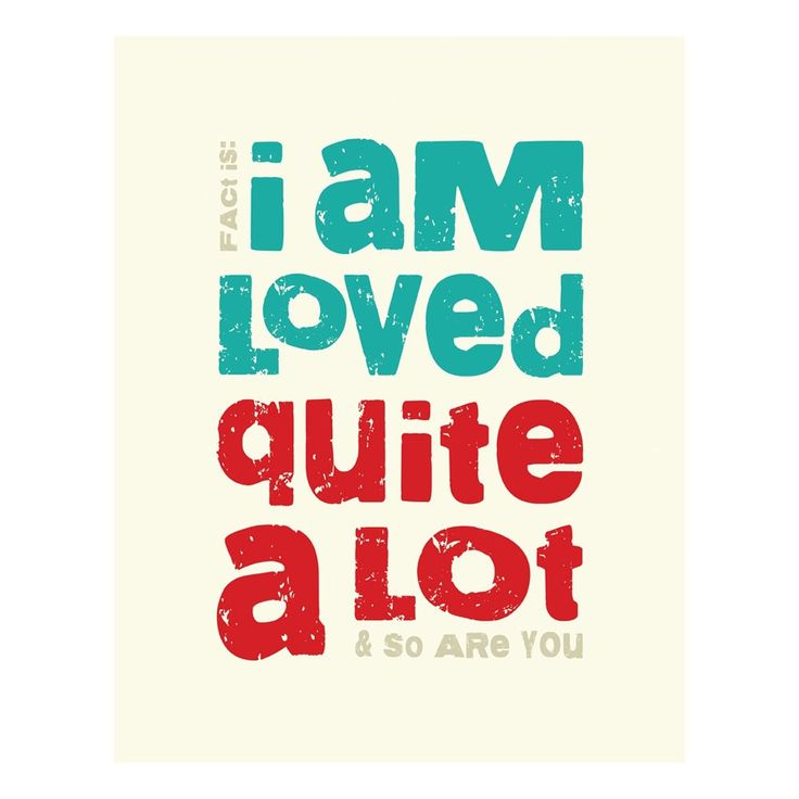 Loved A Lot Print: Lots Prints, Inspiration, Megan Romo, Quotes, Lots Canvas, True Facts, Canvas Wall Art, Products, I Am