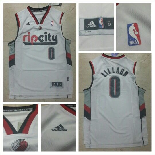 READY STOCK ! READY STOCK!!  JERSEY BASKETBALL NBA RIP CITY LILLARD #0 SWINGMAN REVO30 FOR SALE   Interested?  Follow us @korionz  Contact us! BB 28BCBB04 LINE Leonardusmarvin Whatsapp +62-838-7033-0922