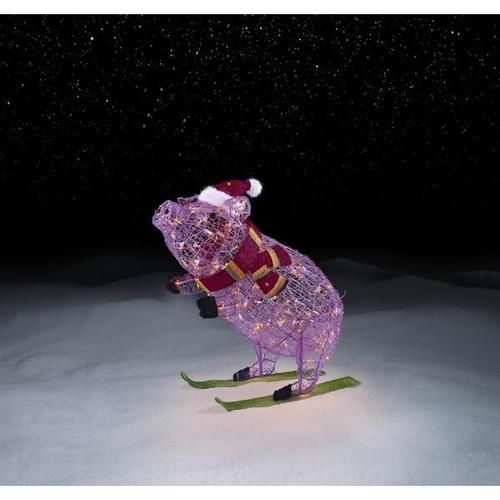 "30"" Lighted Pre Lit Pink Christmas Pig On Skis Outdoor. Outdoor Christmas Decorations. Glass Christmas Ornaments Italy. Christmas Party Decorations Uk. Christmas Tree And Decorations. Father Christmas Lights Decorations. Nightmare Before Christmas Decorations Ebay. Chocolate Christmas Tree Decorations Amazon. Christmas Ornaments With Knitting Theme"