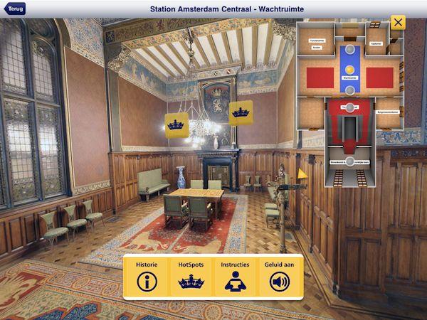NS Koninklijke wachtkamers virtueel bezoeken