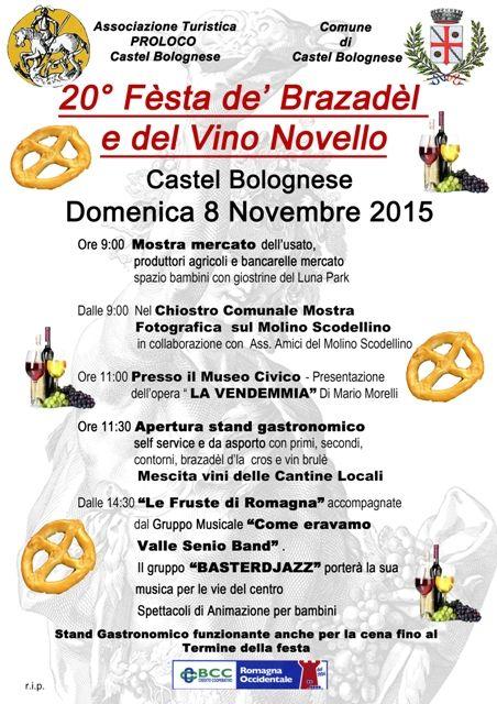 Brazadel dla cros e vino novello a Castelbolognese http://www.sagreromagnole.it/brazadel-dla-cros-e-vino-novello-castelbolognese-2015/