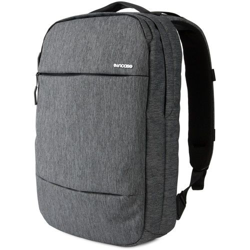 """Incase Designs Corp City Compact Backpack for 15"""" MacBook Pro (Heather Black/Gunmetal Gray)"""