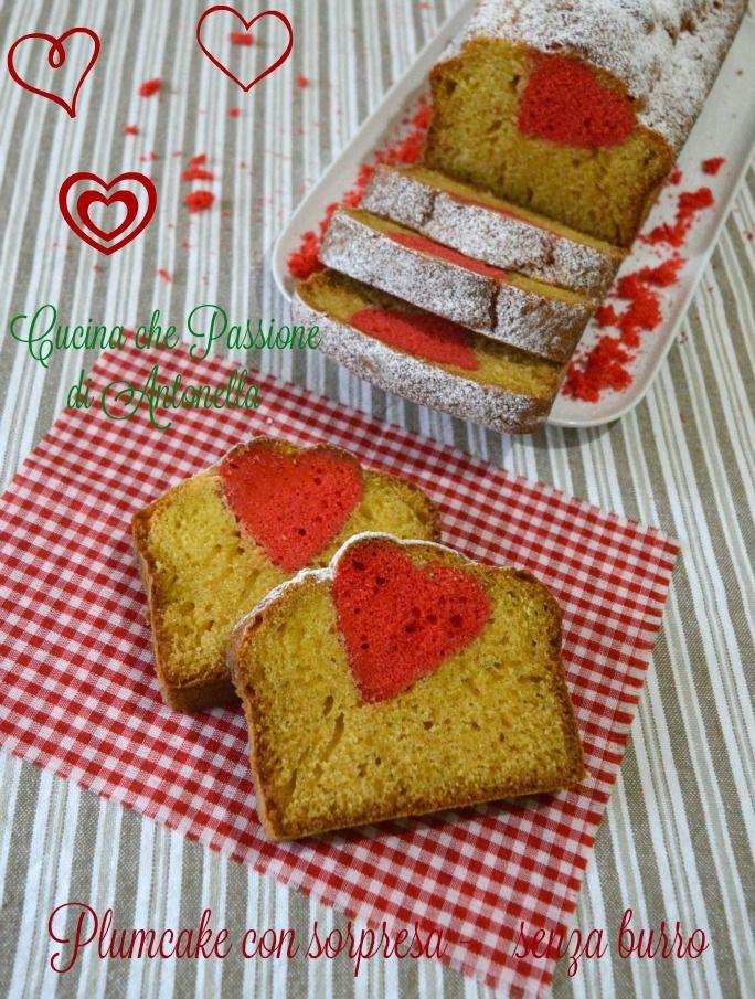 plumcake con sorpresa cucina che passione di antonella