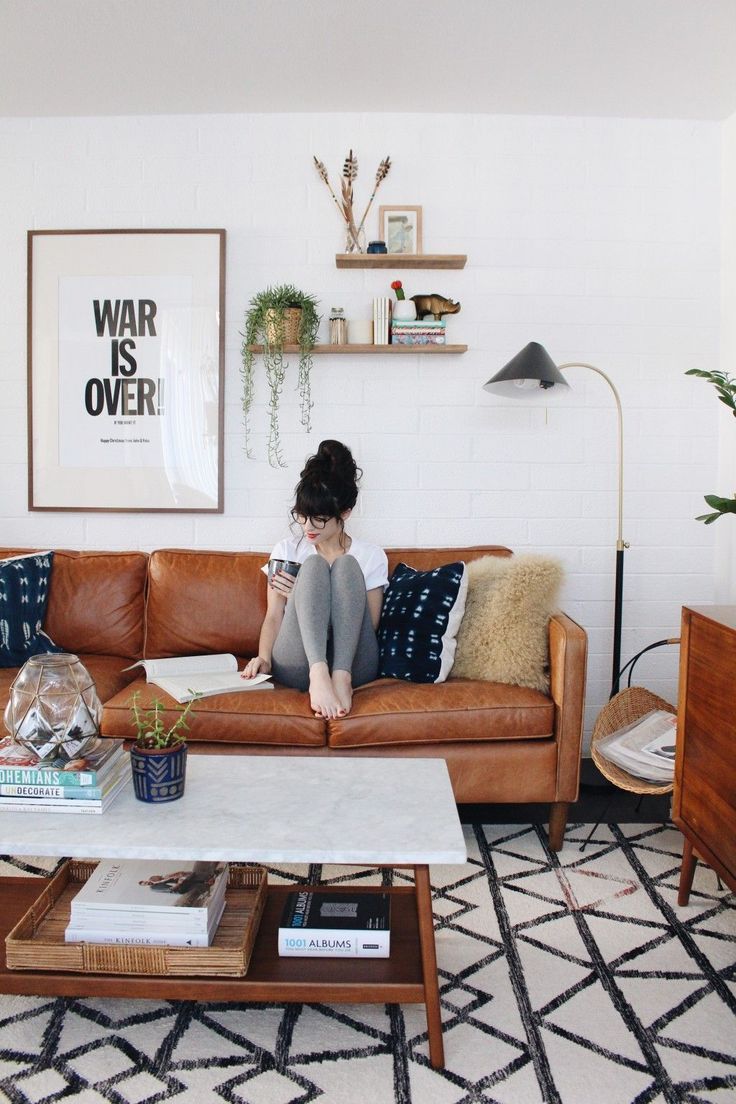 New Darlings - Home - Lifestyle - Midcentury Boho Living Room