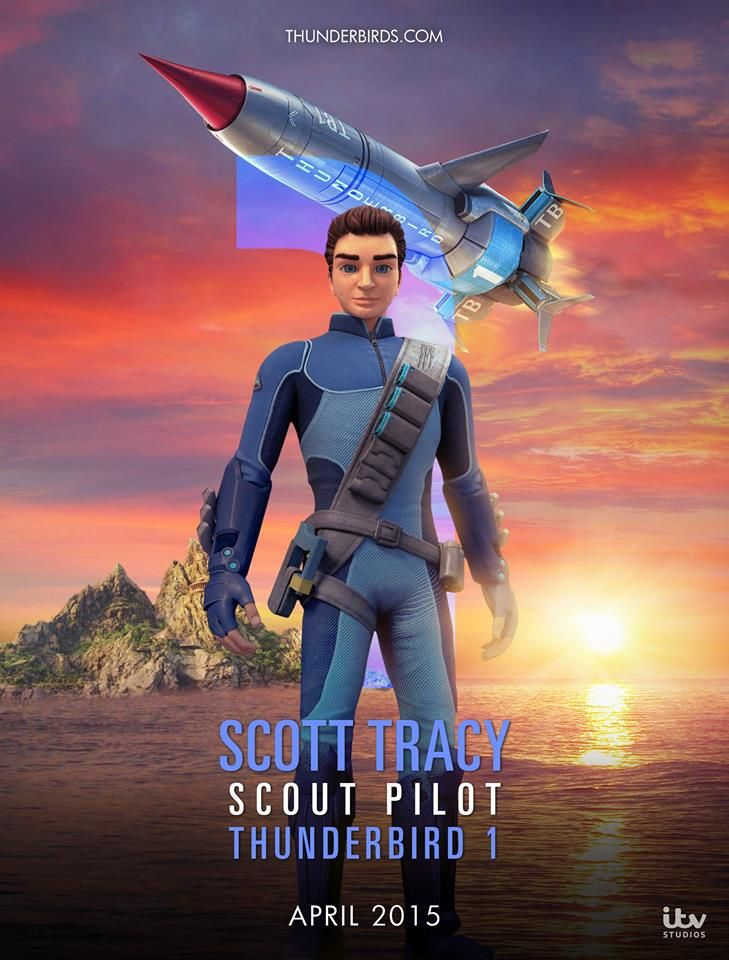 Scott Tracy, Thunderbirds Are Go! 2015