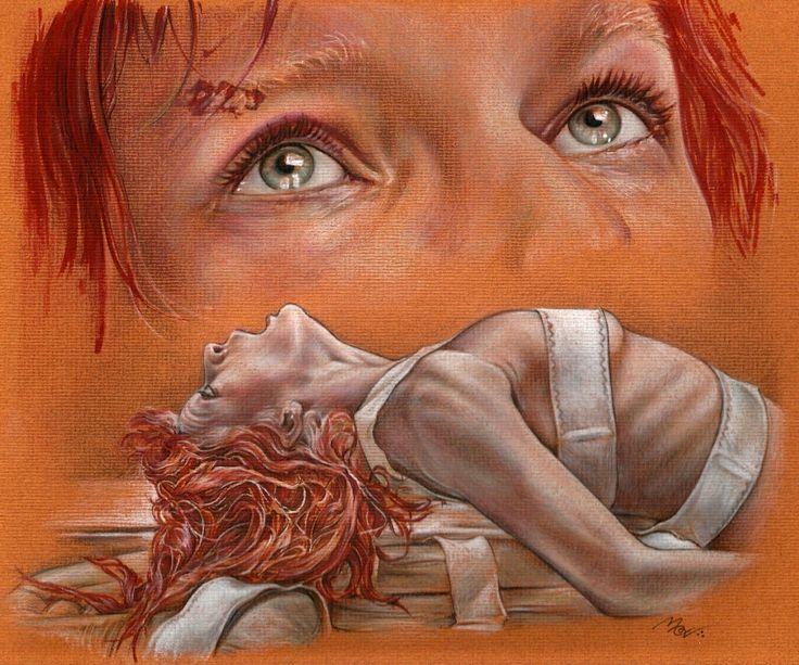 Milla+Jovovich+by+mevelie