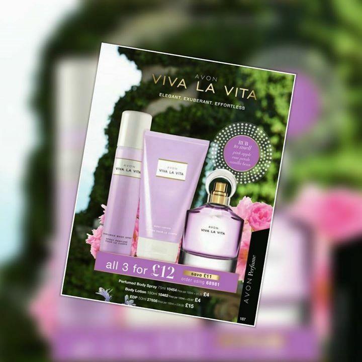 Viva la Vita gift set visit Avon.uk.com/store/shana-shop