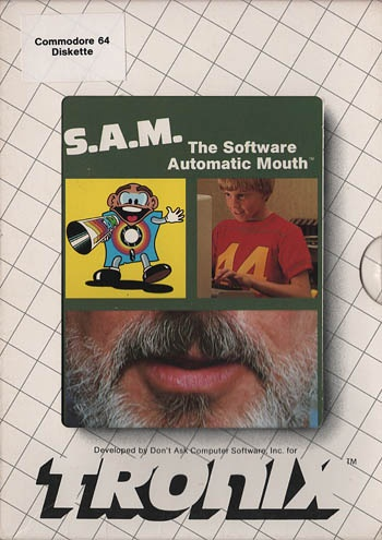 S.A.M - Software Automatic Mouth: It made the commodore talk.