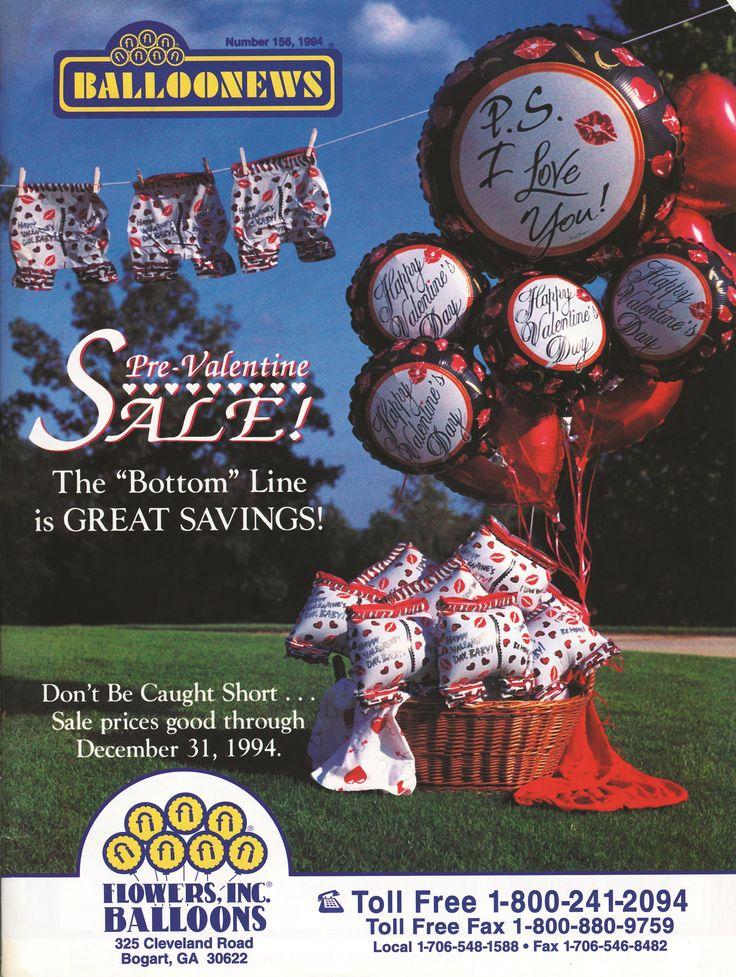 BALLOONEWS: Pre-Valentine Sale! 1994 #burtonandburton