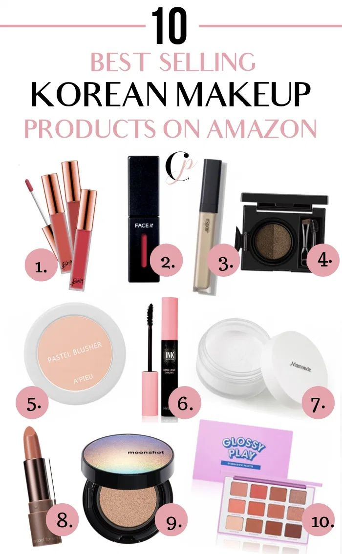 The Best Korean Makeup On Amazon For Cheap Best Korean Makeup Korean Makeup Korean Makeup Tips
