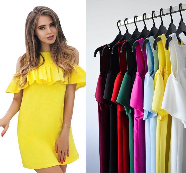 Un #NOU model perfect pentru sezonul de vară este rochia R671. Achizitioneaz-o și tu!      Link rochie R671: http://www.adromcollection.ro/rochii/753-rochie-angro-r671.html