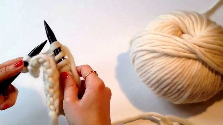 Cómo hacer punto jersey #TheWoolCollection #knitting #DIY #puntojersey