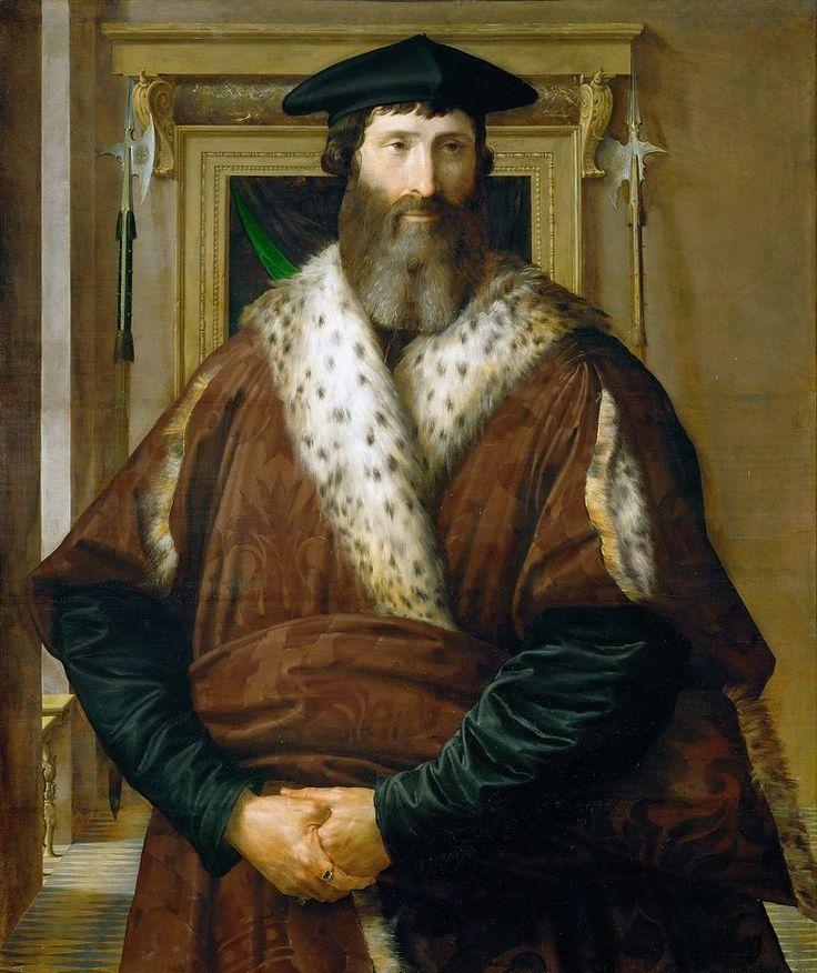 Πορτρέτο του άρχοντα και στρατιωτικού Malatesta Baglioni (1527-28)