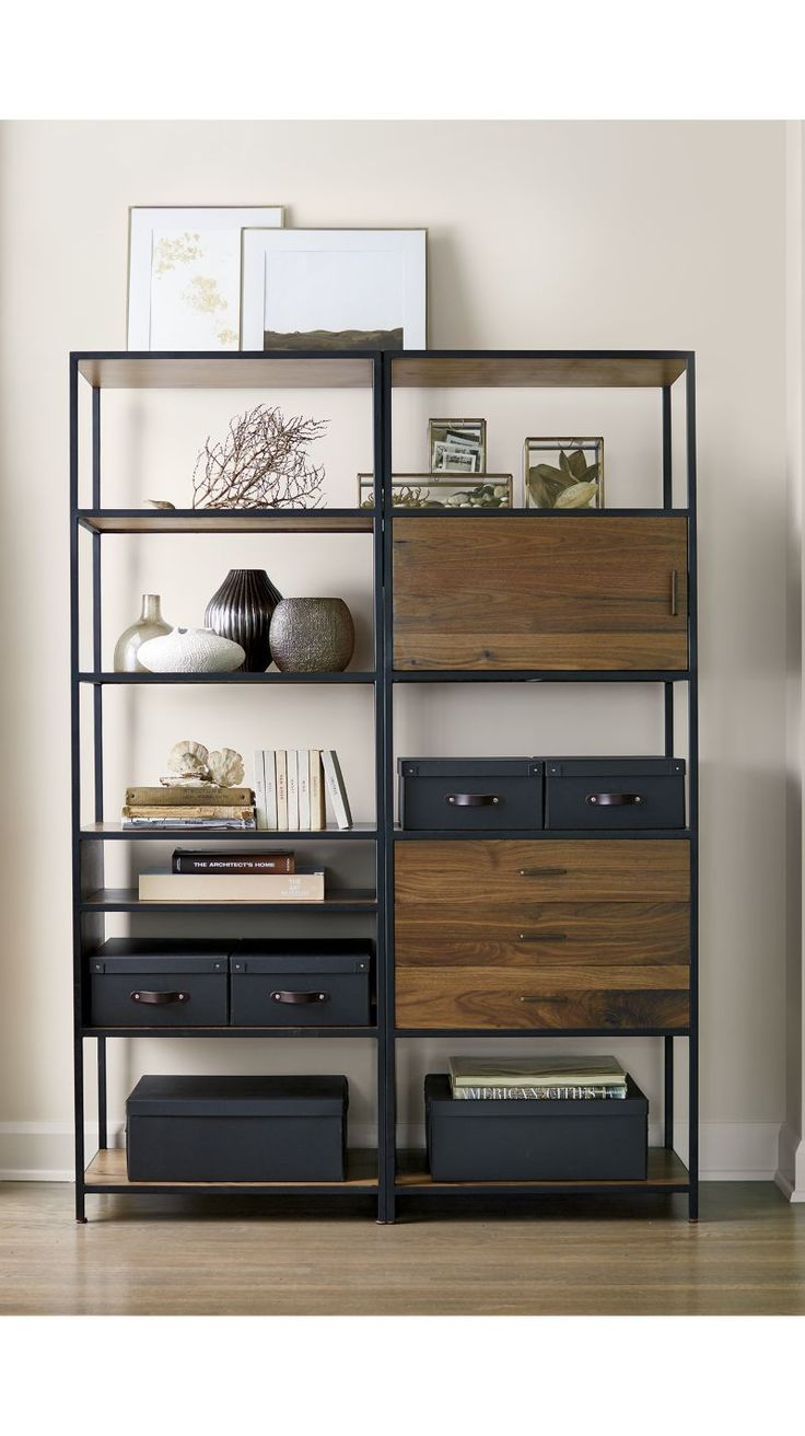 Best 25 open bookcase ideas on pinterest metal bookcase for Furniture of america nara contemporary 6 shelf tiered open bookcase