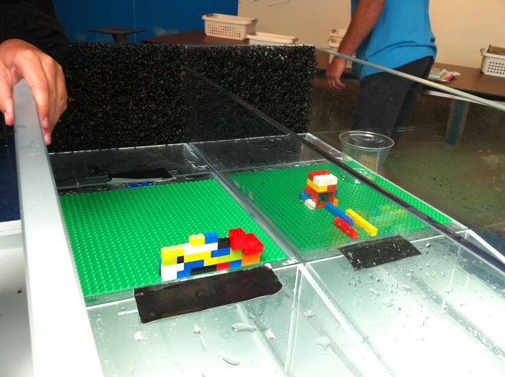 Lego activity at Tsunami wave tank | Exhibits | Pinterest ...