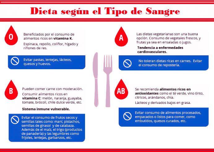 ¿En que Consiste la Dieta del Grupo Sanguineo? Te lo Explicamos Todo!