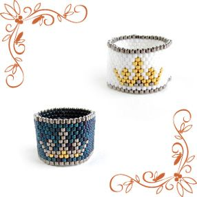 Ring of the crown pattern