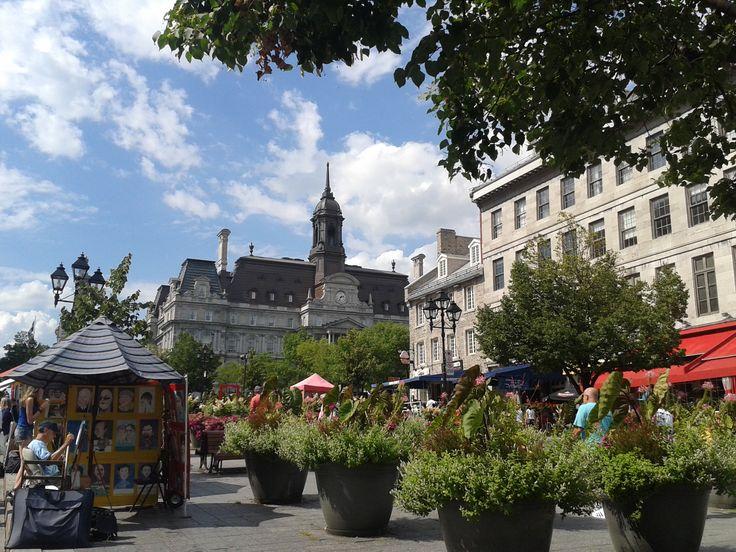 Place Jacques Cartier, Vieux Montréal