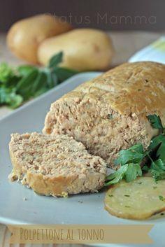 Polpettone al tonno ricetta cucinare semplice veloce passo passo con foto antipasto contorno fingerfood Statusmamma Giallozafferano blog blogger blogGz ricette di cucina