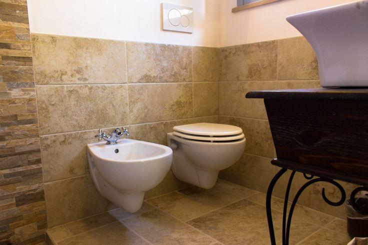 Le Fogge casa vacanze – Bagno piano inferiore servizi