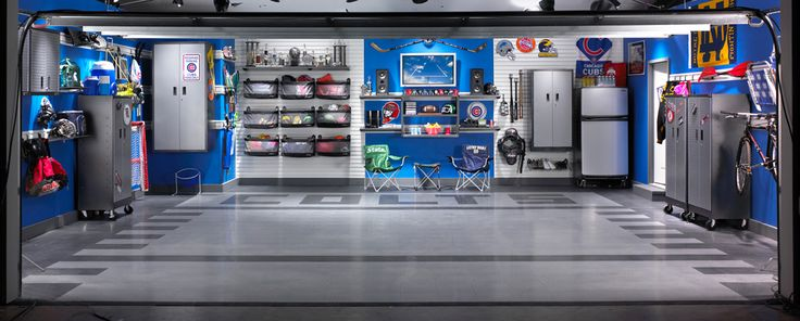 Man Cave Sports Garage : Best images about organize your garage on pinterest