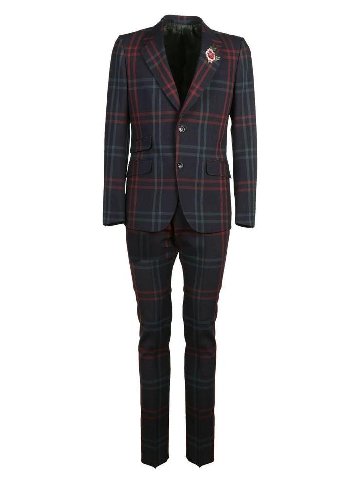 GUCCI Gucci Checkered Suit. #gucci #cloth #