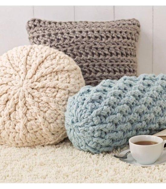 Crochet Pillows Free Patterns                                                                                                                                                                                 Más