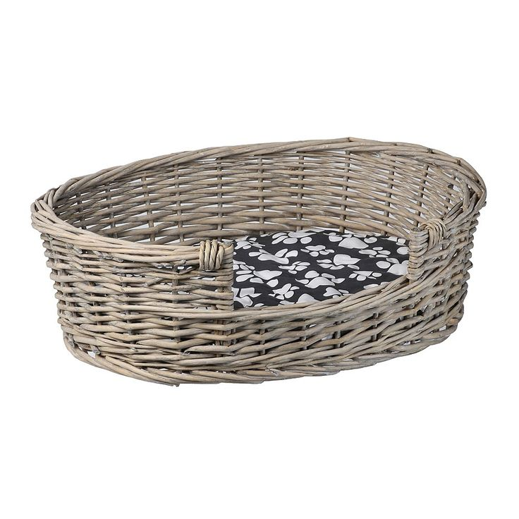 Cosy & warm pet baskets available in a range of styles & colours. Order online at Briscoes and we will deliver to your door., Pet Basket Willow Large