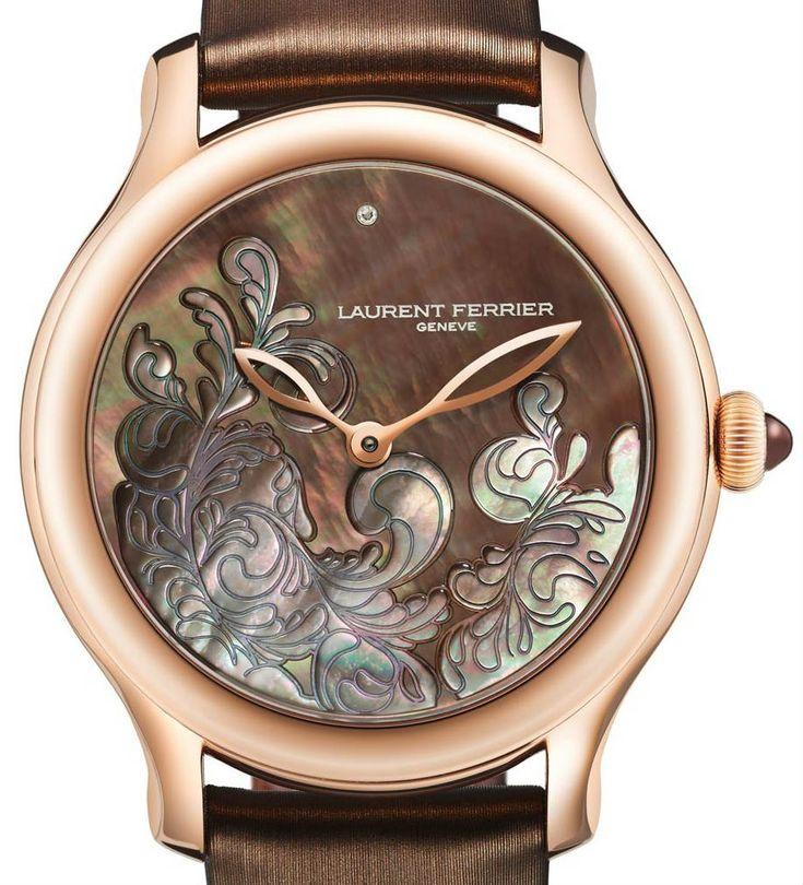 LCF011S.R5.NN1 Laurent Ferrier швейцарские часы Lady F - женские наручные золотые часы