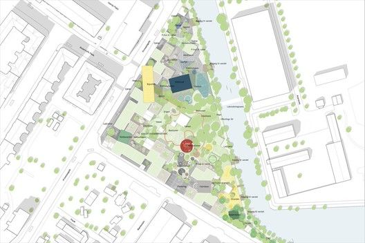 Prinsessegade Kindergarten and Youth Club Winning Proposal / COBE + NORD Architects,masterplan