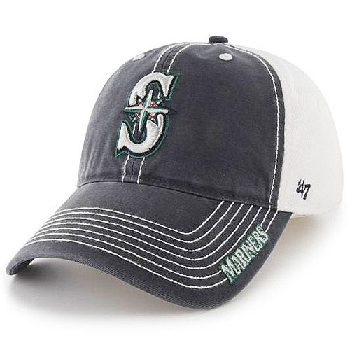 Love this hat!  Seattle Mariners Ripley One Size Stretch Fit Cap by '47 Brand - MLB.com Shop