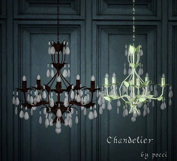 Chandelier By Pocci The Sims 3 Pinterest Lights And