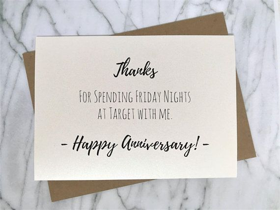 Target Anniversary Card For Husband 10th Anniversary Card 20th Etsy Anniversary Cards For Husband Funny Anniversary Cards Anniversary Cards