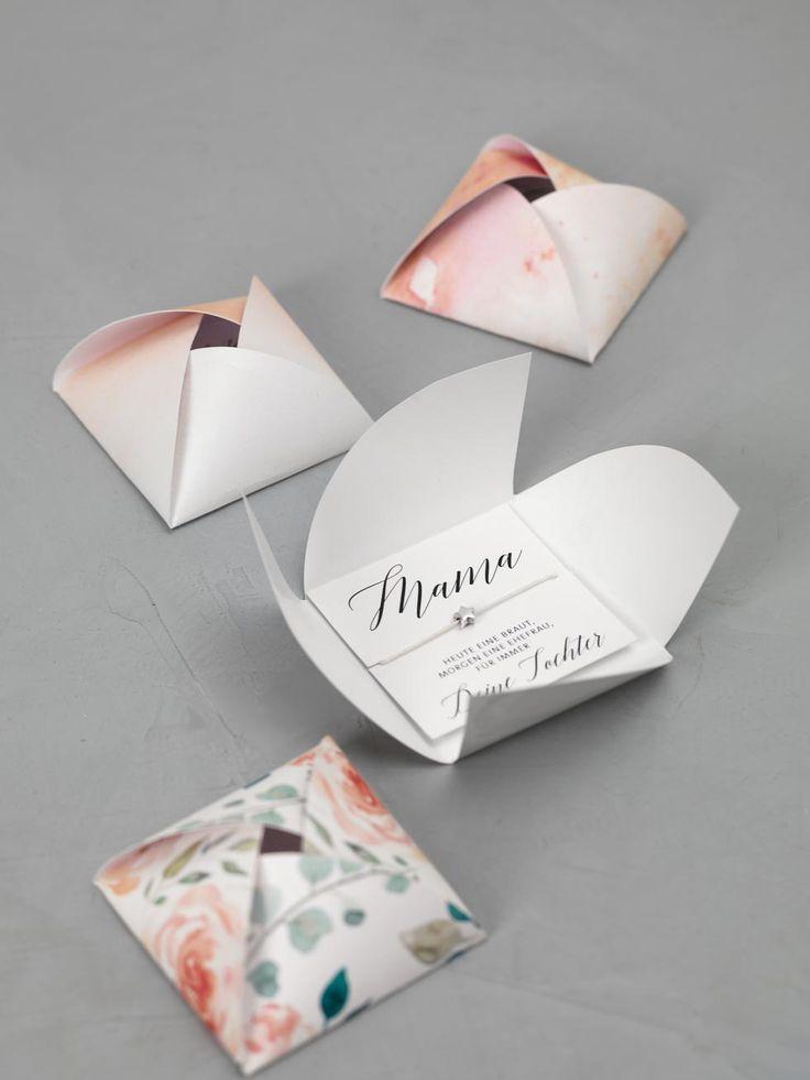 Kleine süße Geschenke für die Brautmutter und die Bräutigammutter