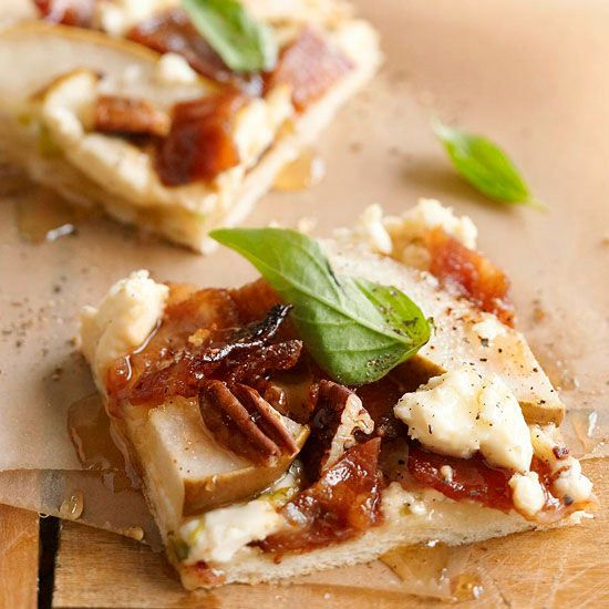 Crisp, salty bacon makes just as tasty a topper for any pizza pie: http://www.bhg.com/recipes/breakfast/bacon-recipes/?socsrc=bhgpin021514topapizza&page=10