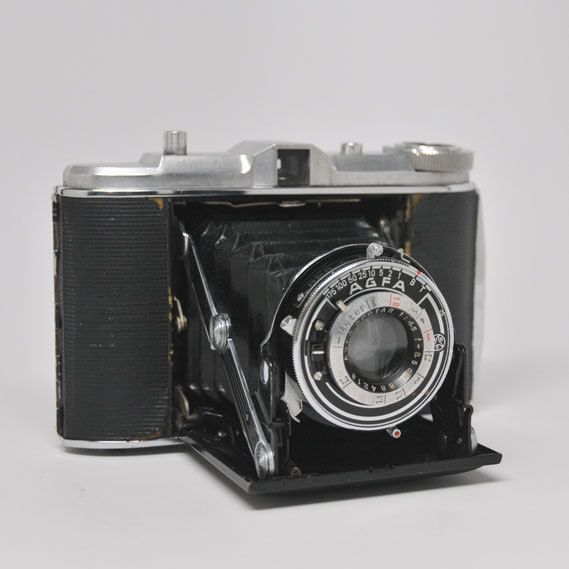 Camera AGFA ISOLETTE VINTAGE Camera by highplacesphotos on Etsy,