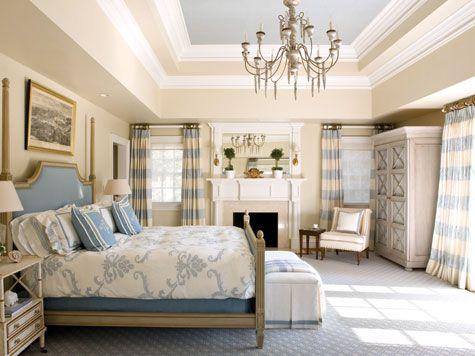 .: Colors Palette, Bedrooms Beige Blue, Kelley Proxmir, Interiors Design, Blue Bedrooms, Bedrooms Chronicles, Master Bedrooms, Sweet Dreams, Beautiful Bedrooms