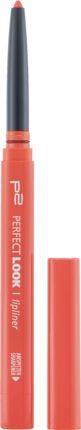 p2 cosmetics Lippenkonturenstift perfect look lipliner pumpkin 170, € 1,75