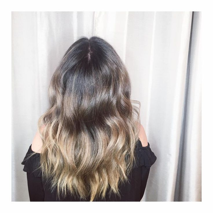Balayage, cool bronde Hair