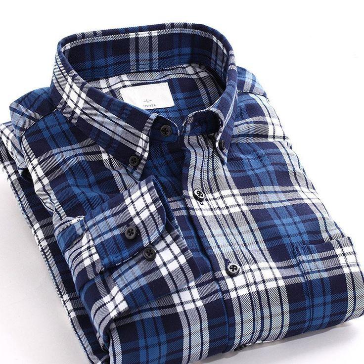 2016 Couple Lovers Plaid Shirt Men Women Long Sleeve Mens Dress Shirts Slim Fit Casual Shirts Men's Shirts High Quality For Male