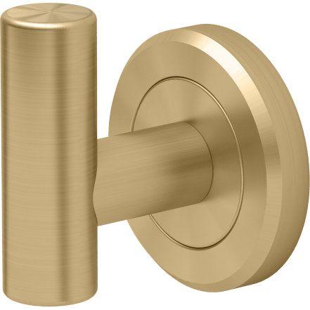 Gatco GC4265 Latitude II Matte Brass  Robe Hooks Bathroom Accessories |eFaucets.com